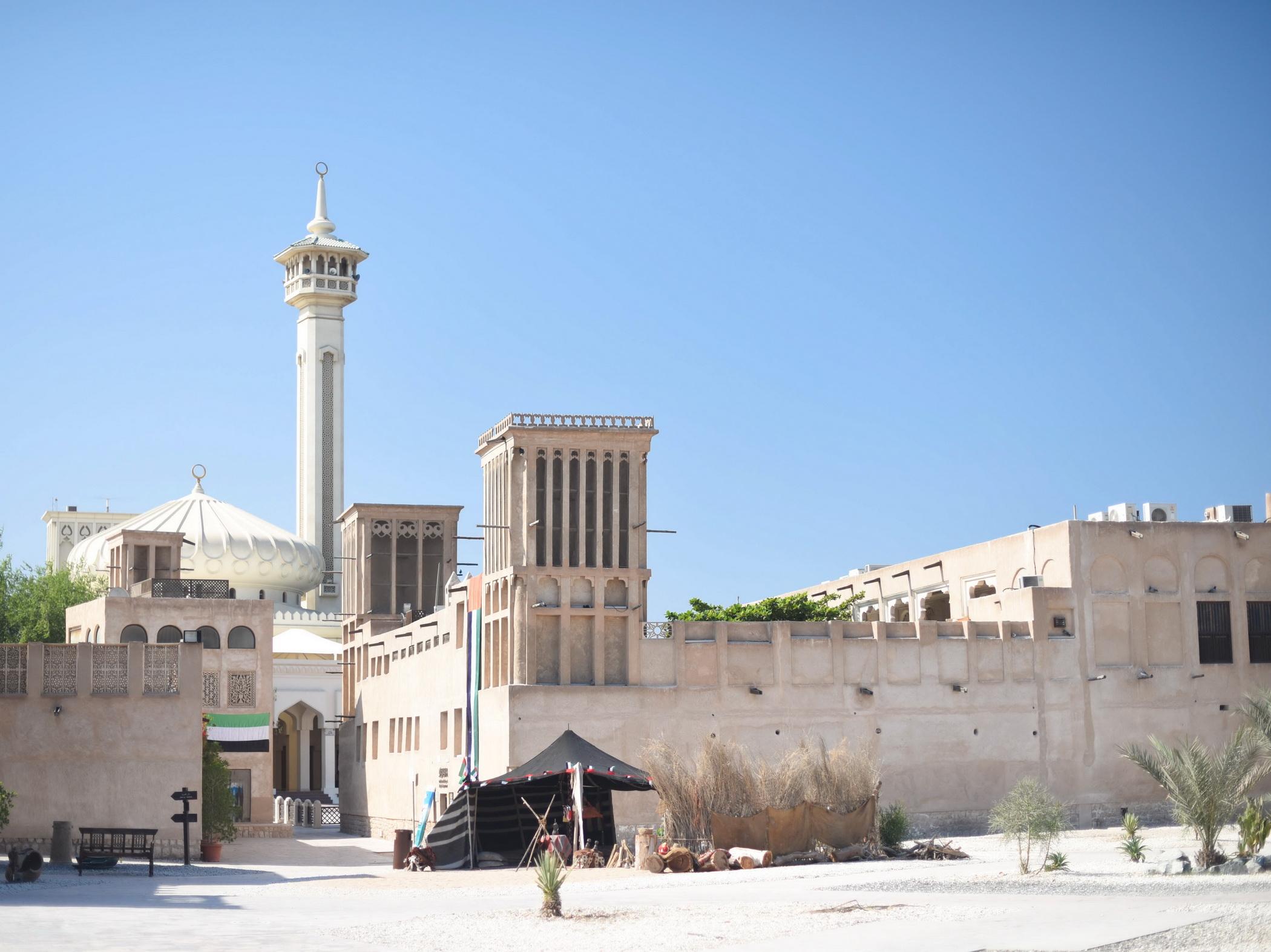 Al Fahidi Mosque Bastakia