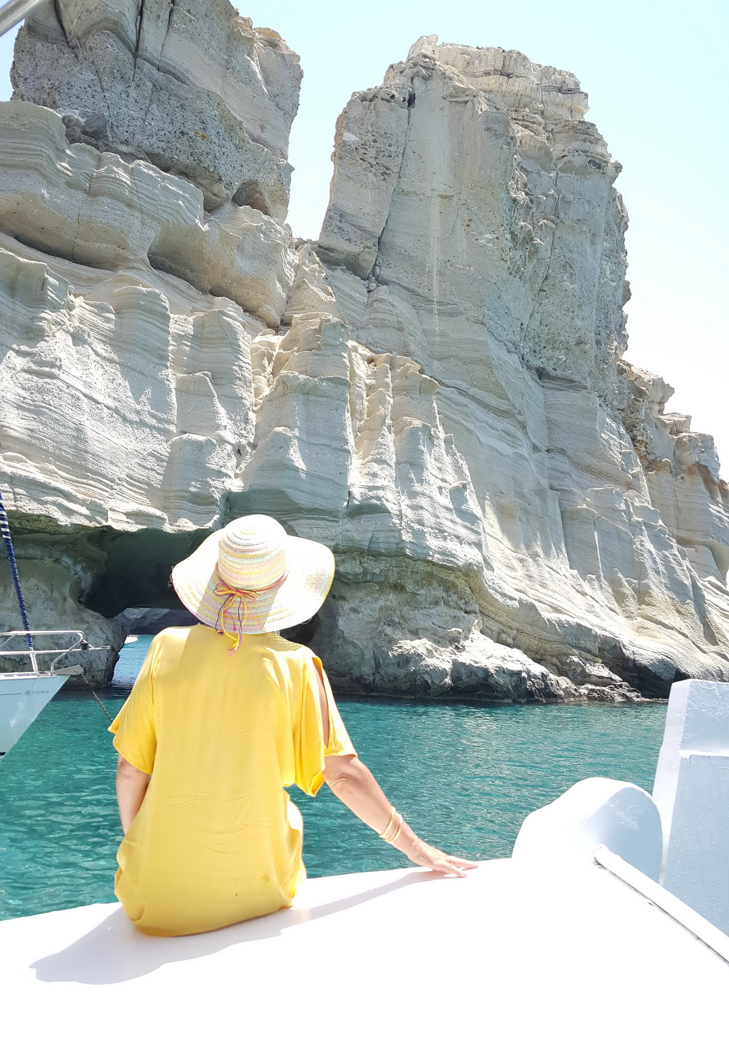 Kliftico Greek traveller in Milos