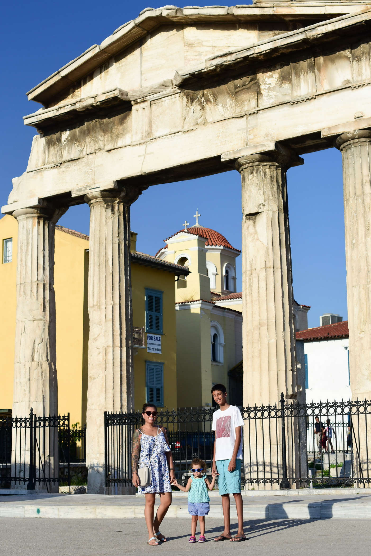 Vacation photographer Athens